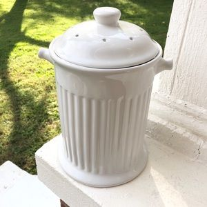 Ceramic Compost Bucket w/ Filter